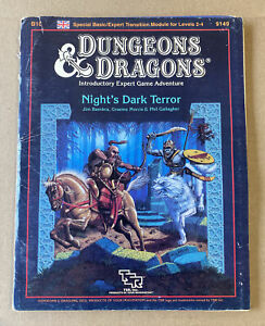 Night's Dark Terror (Dungeons & Dragons Module B10) Rare