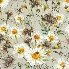 4x Paper Napkins for Decoupage Decopatch Craft Flower Garden
