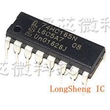 50 PCS SN74HC165N DIP-16 74HC165N 74HC165 8-bit shift register NEW IC