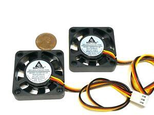 2 Pieces GDSTIME 12v fan 4010 40x40x10 4cm 40mm 3pin heatsink computer CPU A33