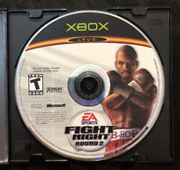 Fight Night Round 2 — Disc Only! Fast Free Shipping! (Microsoft Xbox, 2005)