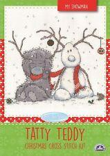 DMC - ME TO YOU - TATTY TEDDY - MY SNOWMAN CROSS STITCH KIT (BL1098/72)
