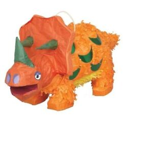 Triceratops Dinosaur Pinata Perfect Party Toy
