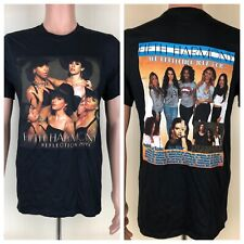 Fifth Harmony Reflection Tour 2015 Black 2-Sided Medium T-Shirt