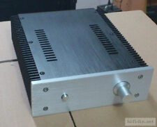 Express Delivery Aluminum power amplifier enclosure chassis case w/ heatsink