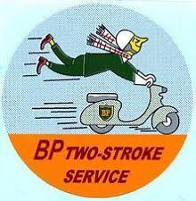 LAMBRETTA VESPA BP 2 Stroke Service Sticker GP,SX,TV,LI