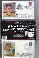 FIRST DAY COVER PROTECTIVE SLEEVES, INTERNATIONAL SIZE x 100 SLEEVE pack