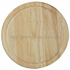Chopping Board Wooden Round Rubber Hevea Cutting Kitchen Pastry Boards Apollo