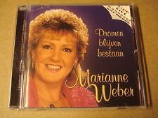 CD / MARIANNE WEBER - DROMEN BLIJVEN BESTAAN