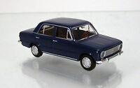 Brekina 22412 Fiat 124 Limousine - saphirblau TD