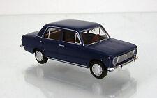 Brekina 22412 FIAT 124 BERLINA-Zaffiro Blu TD