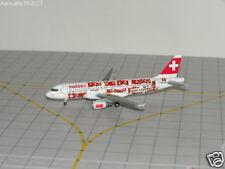 Herpa Wings 1/400 SWISS A320-214 Hop Suisse 2008 562027