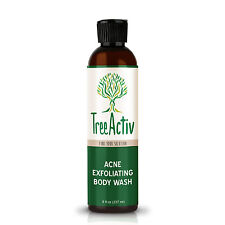 Treeactiv Body Wash - For Body Acne and Toxins with Calamine and Sulfur Powder
