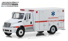 1:64 Greenlight * HD Camion 14 *International Durastar Ambulanza Fire Dpt Als