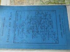 Antique European Maps & Atlases England 1910-1919 Date Range