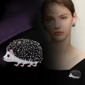 Women's Animal Brooch Pin Enamel Cute Hedgehog Charm Best Jewelry HOT