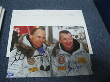 Bertrand Piccard and Brian Jones  Autographed Photo Postcard