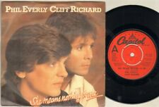 """PHIL EVERLY CLIFF RICHARD She Means Nothing To Me 7"""" VINYL"""