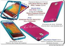 for SAMSUNG GALAXY NOTE III 3 FULL BODY WRAP-UP TOUCH THROUGH SCREEN CASE COVER