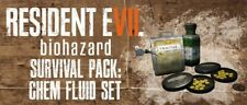 Resident Evil 7 Survival Pack: Chem Fluid Set DLC PS4 Code *NO GAME*