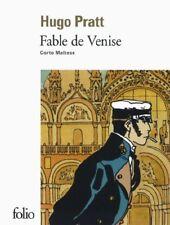 Fable de Venise Corto Maltese Book 9782070458356 Folio Album