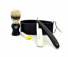 Straight Razor Shave Ready Mens Wet Shave Club Shaving Set Dovo Paste Black GQ