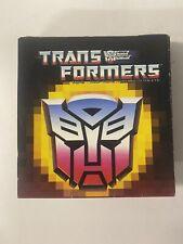 Transformers G1 Vintage 1987 Checklist Insert