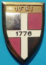 Insigne du 10° Régiment d'Infanterie