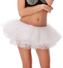 Adult Women Ladies Fancy Ballet Dress Patticoat Dancewear Neon TUTU Mini Skirts