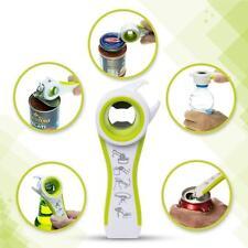 Cucina Casa Multifunzione 5 in 1 Bottiglie Barattoli Manuale per Aprire Attrezzo