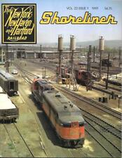 Shoreliner Magazine NYNH&H V22 N1 Hamden Railroad Boston New Haven Coaches Dover
