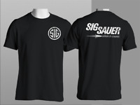 New SIG SAUER Firearms German Gun Ammunition Army Military Police T Shirt S-4XL