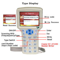 USB 13.56 Frequency NFC Card Copier Reader Writer For IC UID Card 125K 500K NEW