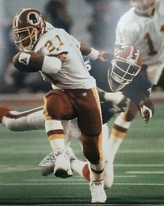 Earnest Byner 8x10 photo unsigned Washington Redskins Super Bowl Champion