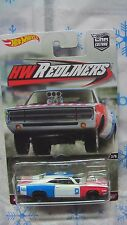 HOT WHEELS 2016 REDLINERS 70 DODGE CHARGER R/T CAR CULTURE NEW IN STOCK
