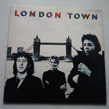 Paul McCartney-London Town Vinyl LP UK 1st Press 1978 + Inner Poster -1/-3 EX/EX