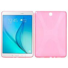 Custodia in silicone fucsia per Samsung Galaxy Tab A 9.7 T550 T555 N NUOVA