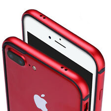 Metal Aluminum TPU Hybrid ShockProof Frame Bumper Case Cover for iPhone 6 7 Plus