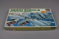 ZF223 Hasegawa 1/72 maquette X72-3 003:400 aircraft weapons III US air missiles