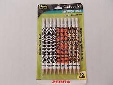 Zebra Pen Cadoozle Animals Mechanical Pencil, 0.7mm, 10-Pack, 51610