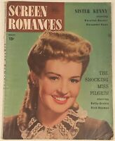 SCREEN ROMANCES MAGAZINE - August, 1946 - BETTY GRABLE