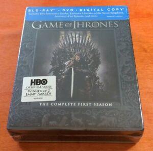 Game of Thrones The Complete First Season Blu-ray Sean Bean  Emilia Clarke