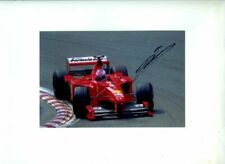 Mika Salo Ferrari F399 Belgian Grand Prix 1999 Signed Photograph 2
