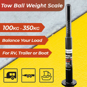 Caravan Tow Ball Weight Scale for Safe Towing of Caravan Trailer RV Boat Tow Bar