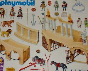 Playmobil Ersatzteile aus 4270 Römer Arena aussuchen Kolosseum Sammlung #D