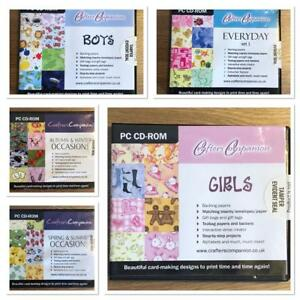 CRAFTERS COMPANION CARD MAKING PC CD