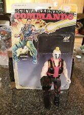"Vintage Arnold Schwarzenegger Commando 6"" Diamond Toys Psycho"