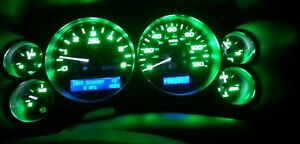 LED Speedometer Upgrade to Green LED Kit 2008 09 10 11 12 Silverado Tahoe Sierra