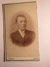 Aussig - junger Mann - Portrait / CDV