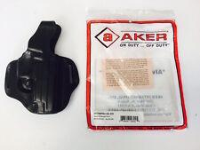 Aker Holster - Quick 90, Straight Draw Black RH for Sig 220, 226 (H170BPRU-SS220
